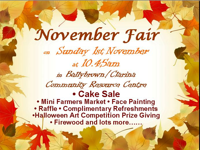 November Fair Facebook ad 2015